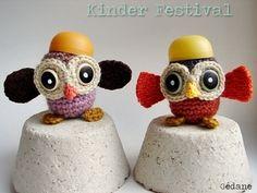 KInder Egg Owls by Gedane