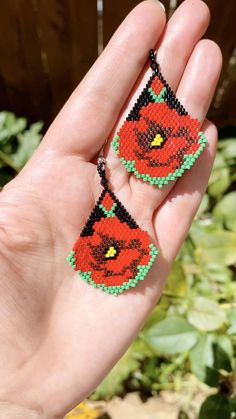Diy Seed Bead Earrings, Beaded Earrings Patterns, Seed Bead Bracelets, Seed Bead Jewelry, Beading Patterns, Bracelet Patterns, Seed Beads, Beading Tutorials, Craft Ideas