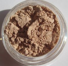 Champagne sheer soft almost matte shimmer brown mineral by kmms, $8.99