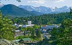 Downtown Estes Park, Colorado - near Rocky Mountain National Park!