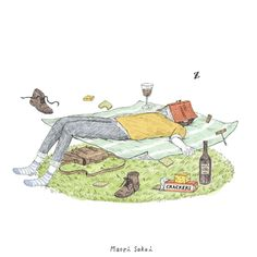 Lovely Lazy Sunday  ♡  - Personal work -