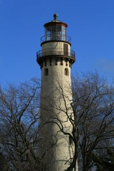 Grosse Pointe Lighthouse, Evanston, Illinois Across the street from my first Evanston home.