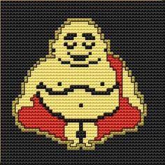 buddha cross stitch chart - Google Search