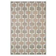 image of Loloi Rugs Weston Squares Rug in Beige