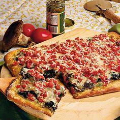 Portobello Pizza - Pizza Recipes - Southern Living