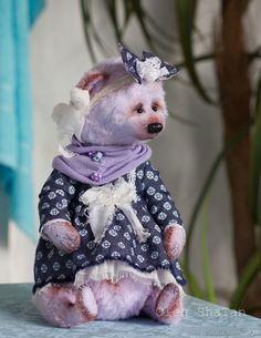 Купить мишка тедди Нюра в интернет магазине на Ярмарке Мастеров