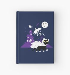 Ghost Kitty Hardcover Journal #cats #blackcat #ghost #halloween #pets
