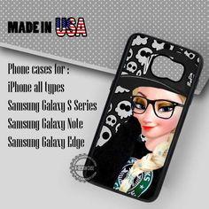 S6 Edge  Case -  Punk Princess Elsa  Frozen- Samsung Galaxy Case #S6EdgePlusCase…