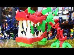 よみがえる ほねほねザウルス ダークメガほねほねベヒモス Dark MEGA  Behemoth&Dragon - YouTube