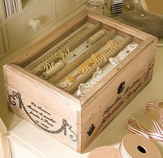 French Sewing Box - create & make