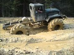 part 1: mud trucks at treverton pa labor day weekend 2010