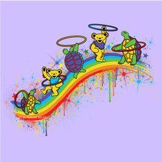 Rainbow Hoopers - ART BY TAYLOR SWOPE