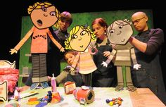 Charlie and Lola's Best Bestest Play. We saw this recently and it was truly amazing. The puppets and choreography were just genius!