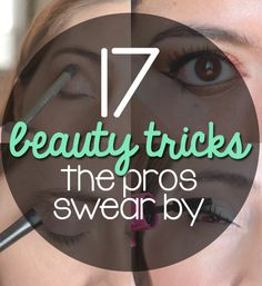 Great #beauty tips!  Did you know all of these? Pin now and read later!