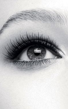Those lashes!