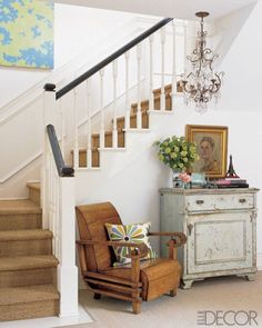hallway, foyer, entryway, stairs, accessories, chandelier, home decor