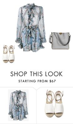"""Untitled #4586"" by explorer-14576312872 ❤ liked on Polyvore featuring Zimmermann and Valentino"