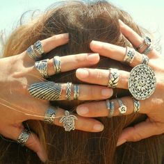 Our chunky boho ring is perfect for summer. We'll make your size. Coupon code…