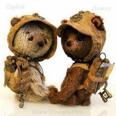 блог Елены Виноградовой о мишках Тедди
