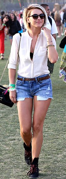 Julianne Hough at Coachella.