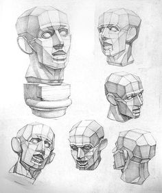 287 best Drawing Head images on Pinterest | Drawing heads, Drawing ...