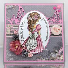DT Kristina Copic Markers, Pink, Crafts, Design, Art, Craft Art, Creative Crafts, Kunst, Rose