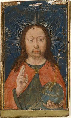 Holy Face  Gerard David  (Netherlandish, Oudewater ca. 1455–1523 Bruges)  Date: ca. 1485–90 Culture: Netherlandish, Bruges