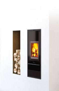 Schiedel KINGFIRE Ofensysteme Phoenix Design, Home Appliances, Wood, Home Decor, Fireplace Living Rooms, Homes, House Appliances, Decoration Home, Woodwind Instrument