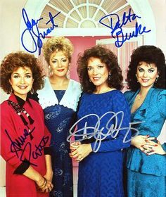 Designing Women Authentic Cast Signed Autograph Photo - Dixie Carter, Annie Potts, Delta Burke, Jean Smart - Certificate of Authenticity Included - Celebrity Hand-Signed Autograph Movies Showing, Movies And Tv Shows, Dixie Carter, Young Movie, Jean Smart, Delta Burke, Book Show, Celebs, Celebrities