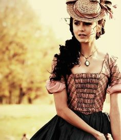 Nina Dobrev, Katherine Pierce {by Paria}