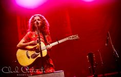 Live music photography | Nashville Tennessee | The Americana Experience | Americana | Patty Griffin performing at Cross County Lines for The Americana Festival! Such an honor to photograph this legendary singer-songwriter!! {Anne Clark Photographs}