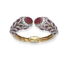 Cartier bracelet ca. 1955 via Christie's