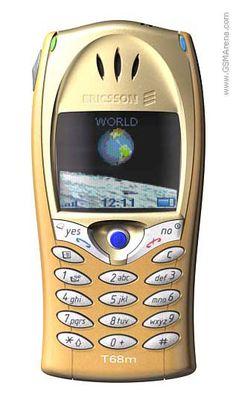 Ericsson T68 Mobile Phone (2001)