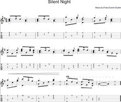 how to play silent night on bass guitar