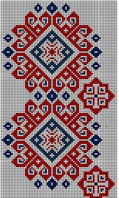 Cross Stitch Geometric, Cross Stitch Bird, Cross Stitch Borders, Modern Cross Stitch Patterns, Cross Stitch Flowers, Cross Stitch Charts, Cross Stitch Designs, Cross Stitching, Creative Embroidery
