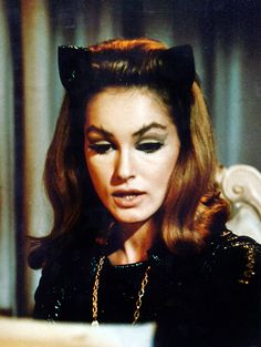 Julie Newmar as Catwoman, 1960's http://25.media.tumblr.com/a92df84755eedfe2d5a13b8999e78b3a/tumblr_mf6zjr8BVJ1qa70eyo1_500.jpg