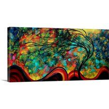 'Fleeting Glance' by Megan Duncanson Graphic Art on Wrapped Canvas