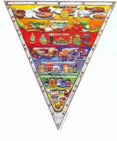 This is the food pyramid our government should teach in schools!