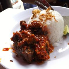 Iga Balado, deliciously spicy