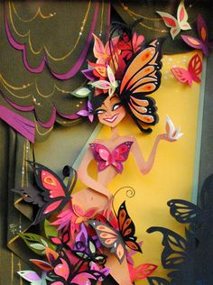 Frozen Headcanon Anna is a beautiful artist. She calls her paper cut outs reversed origami.