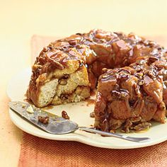 Caramel-Pecan Monkey Bread Recipe - Different from my usual but something I definitely want to try!