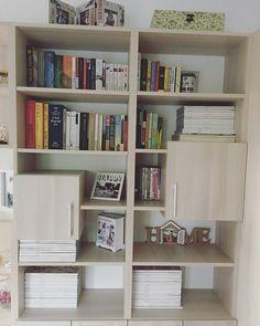 Mary's Fashion Diary: My home Book Worms, Bookcase, Shelves, Living Room, Home Decor, Shelving, Book Nerd, Shelving Racks, Bookshelves