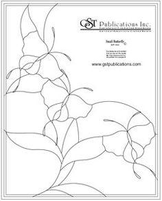 butterflies bevel panel pattern