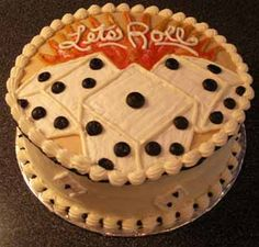 @Kelsey Taylor love this Bunco cake idea!!!