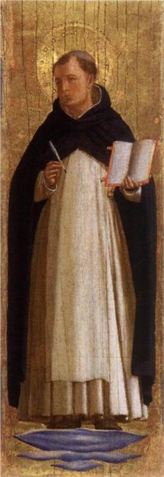Fra Angelico, St. Thomas Aquinas, c. 1438 - 1440