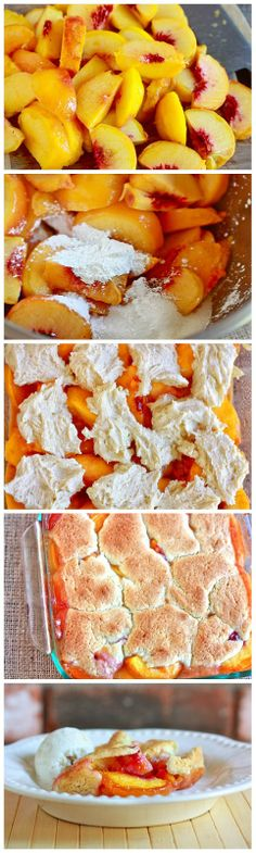 ... about Peach... on Pinterest | Peach cobblers, Peaches and Peach pies