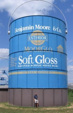 World's Largest Can of Paint, Benjamin Moore & Co., Southampton, Pennsylvania