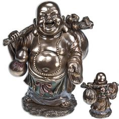 Large Lucky Buddha Statue