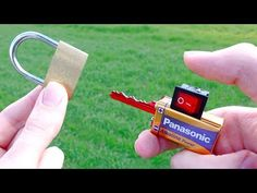 Simple Invention to Open Locks - YouTube