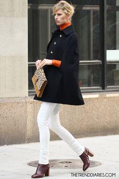 Karolina Kurkova at a photoshoot in New York City, New York - May 3, 2012